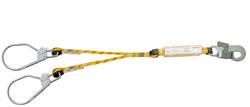 Doble cuerda con mosquetones 80119