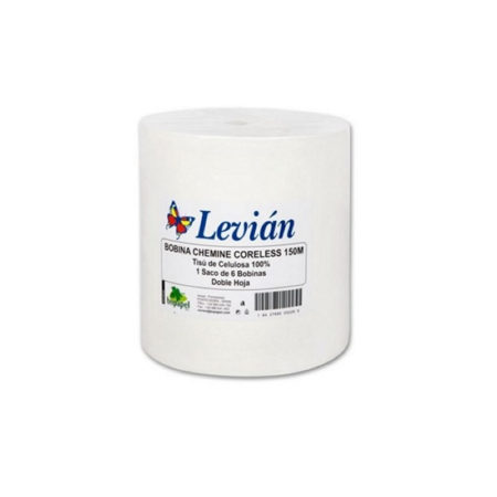 BOBINA CHEMINE SECAMANOS LEVIAN CORELESS 130M